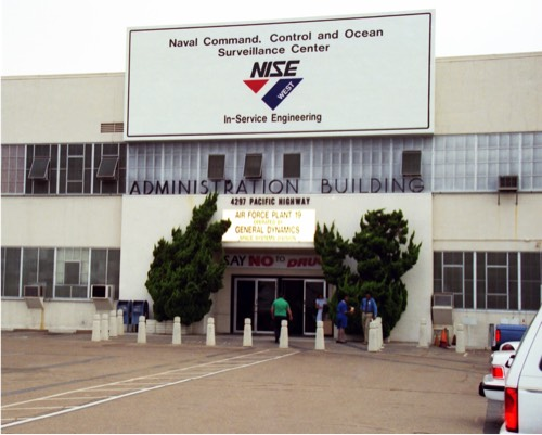 Naval Command, Control and Ocean Surveillance Center building